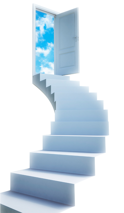 Stairway to success customer loyalty programs