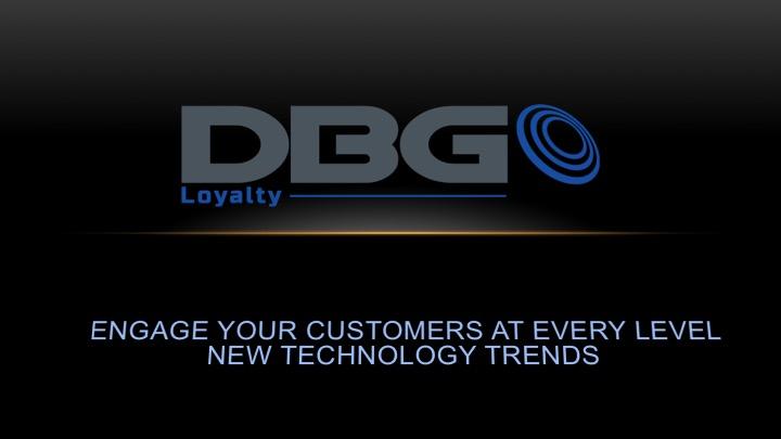 DBG Loyalty, Tech Trends 2015