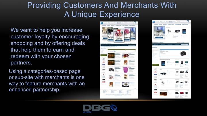 DBG Loyalty is an expert at design unique loyalty programs