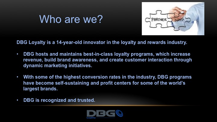 Who is DBG Loyalty