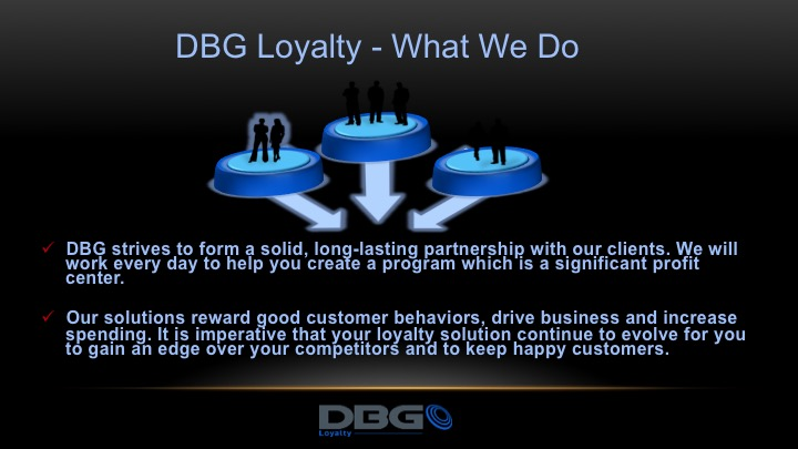 DBG Loyalty customer loyalty software