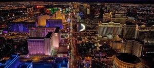 las vegas night view